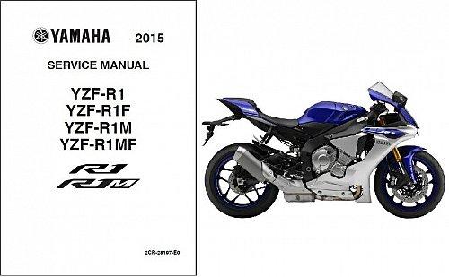 2015-2016 Yamaha YZF-R1 ( R1 / R1M ) Service Manual on a