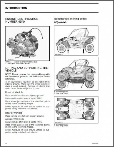 2015 Can-Am Maverick X ds Service & Owner's Manual on a CD
