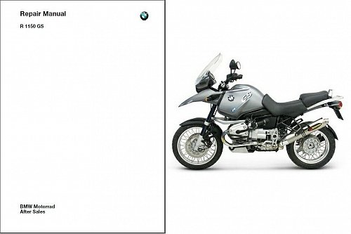 1998-2004 BMW R1150GS Service Repair Workshop Manual CD