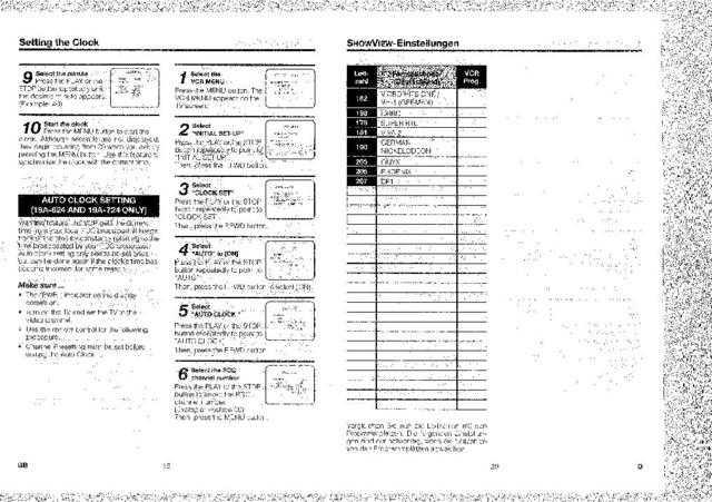 Funai 19A-620 19A-624 720 724 (EN DE) PAGE31-40 Manual by
