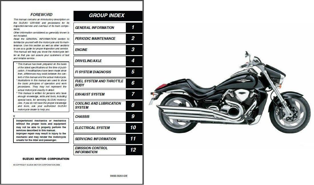 2006-2009 Suzuki VZR1800 Intruder M1800R / Boulevard M109R