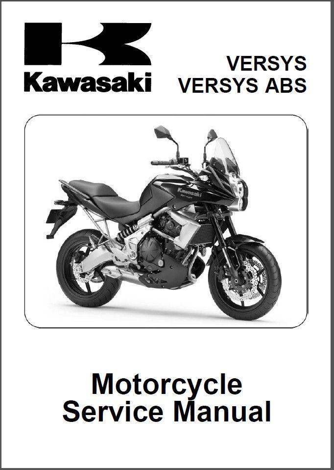 10-14 Kawasaki Versys ABS Service Repair Workshop Manual