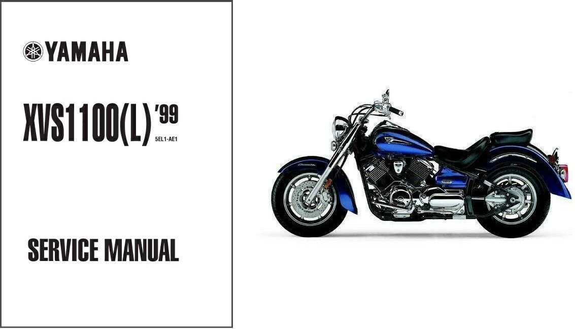 Yamaha XVS1100 V-Star / Dragstar 1100 Service Repair