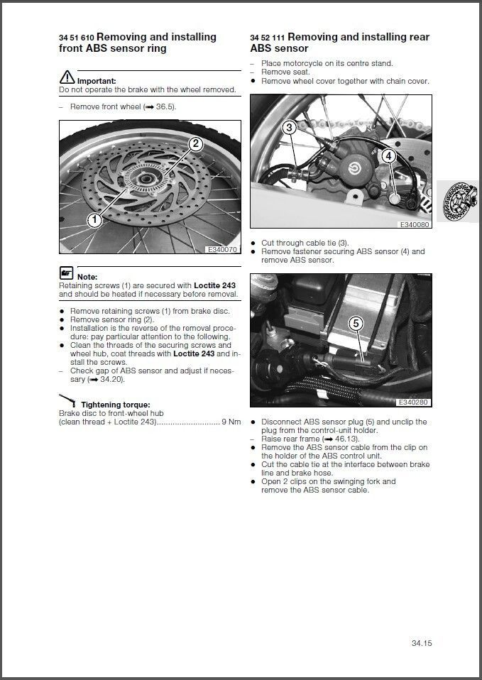 2000-2007 BMW F650GS / Dakar Service Repair Shop Manual CD