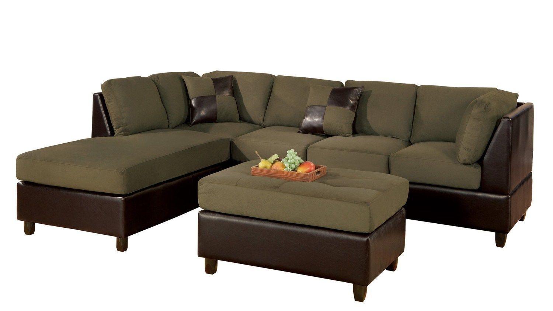 bobkona sofa set sleek hungtinton microfiber faux leather 3 piece