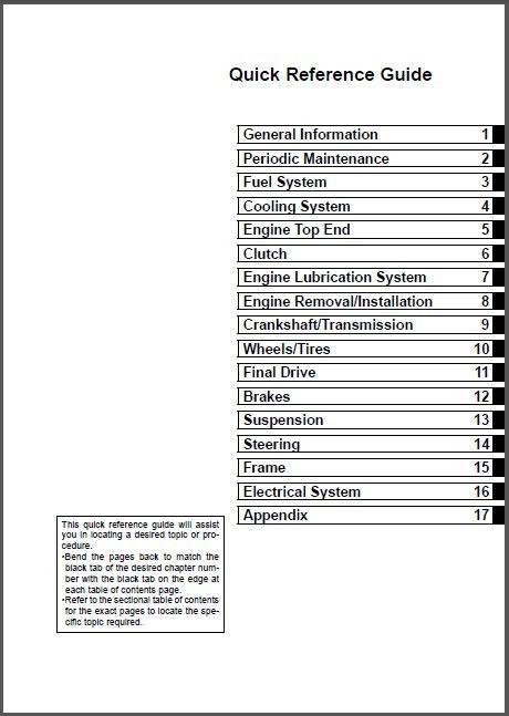 2005-2007 Kawasaki KLE500 Service Repair Workshop Manual