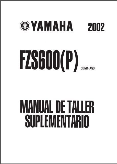 98-04 Yamaha FZS600 Fazer Service Repair Manual CD