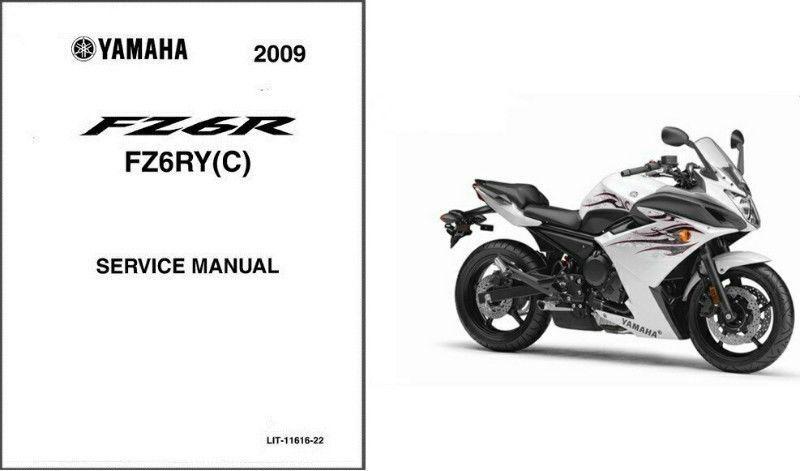 09-13 Yamaha FZ6R Fazer Service Repair Manual CD .. FZ6 FZ