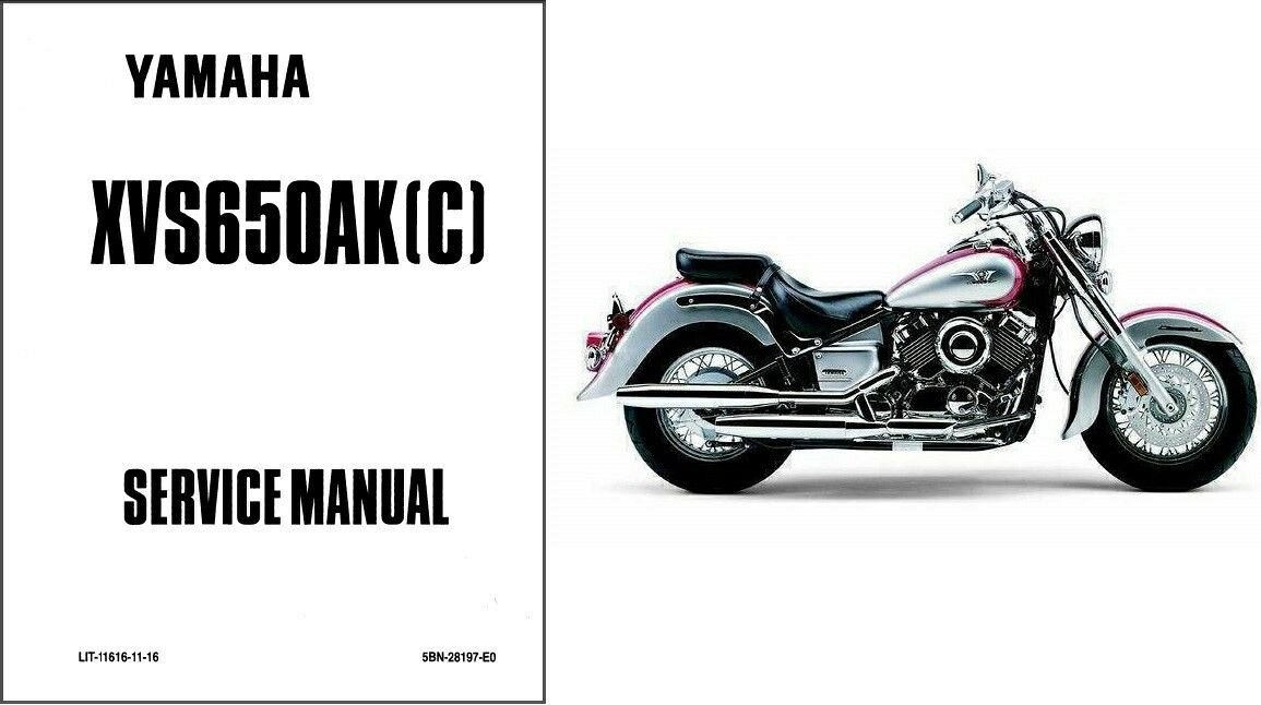 Yamaha V Star 1100 Classic Service Manual Collections
