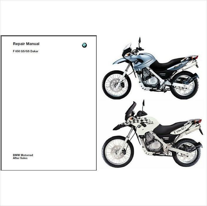 2000-2007 BMW F650GS / Dakar RepROM Service Repair Manual