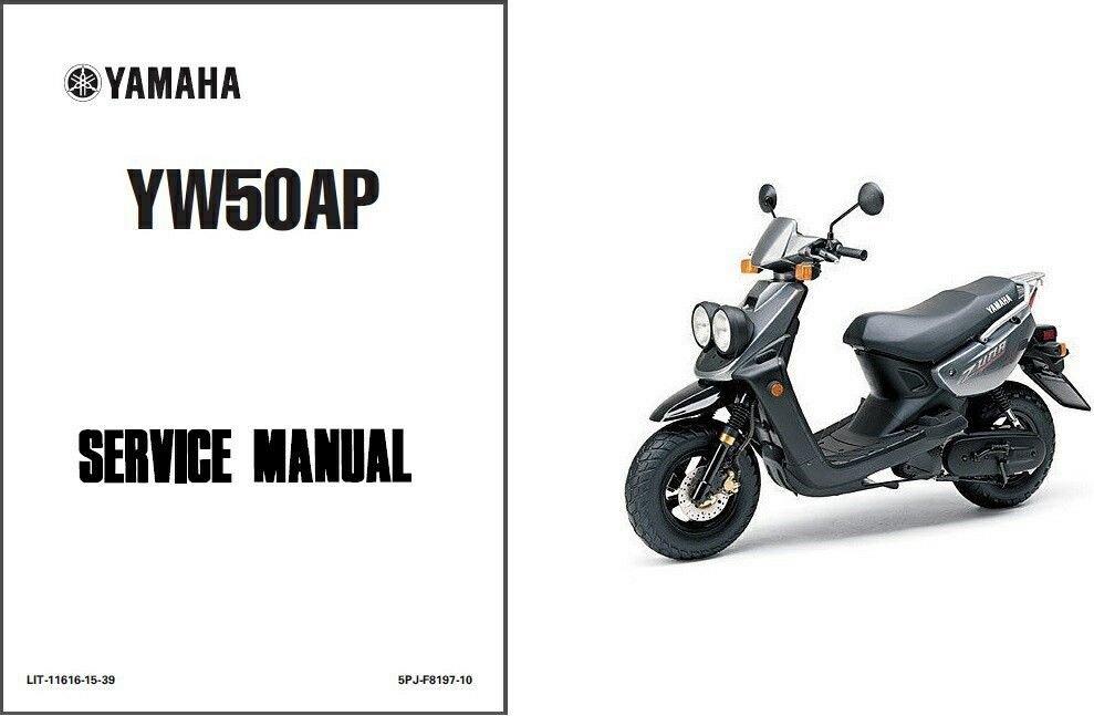 2002-2011 Yamaha Zuma 50 ( YW50, BWs, MBK Booster