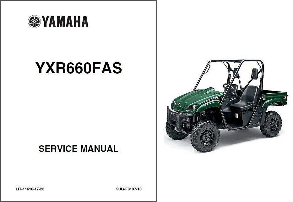 2004-2005-2006-2007 Yamaha Rhino 660 ( YXR660 ) UTV