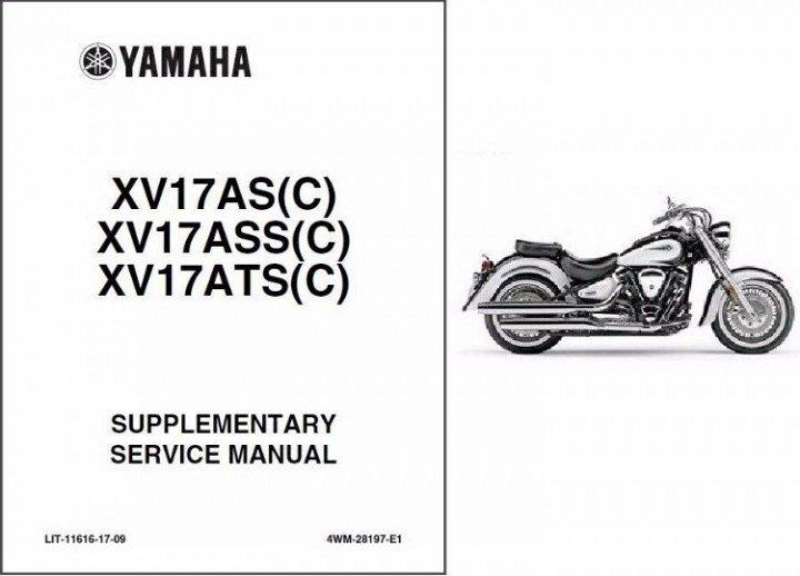 1998-2008 Yamaha Road Star 1600 / 1700 ( XV16A / XV17A