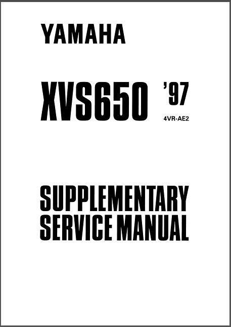 1997-2004 Yamaha V-Star 650 / DragStar 650 ( XVS650