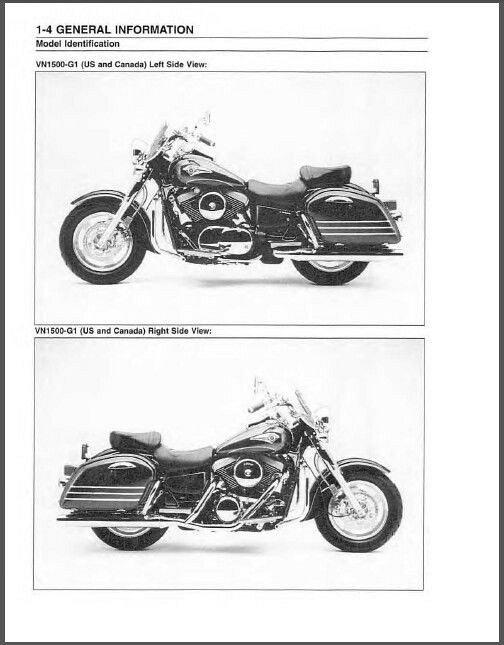 1998-2001 Kawasaki Vulcan 1500 Nomad / VN1500 Classic