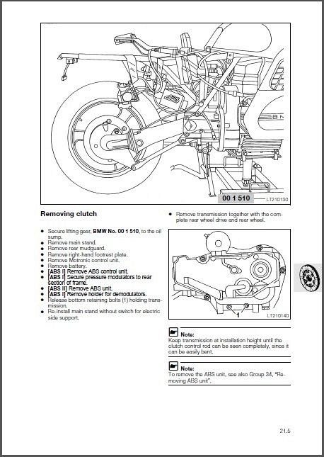 1990-1997 BMW K1100LT / K1100RS Service Repair Workshop