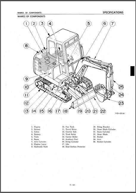 Takeuchi TB045 Compact Excavator Service Manual on a CD