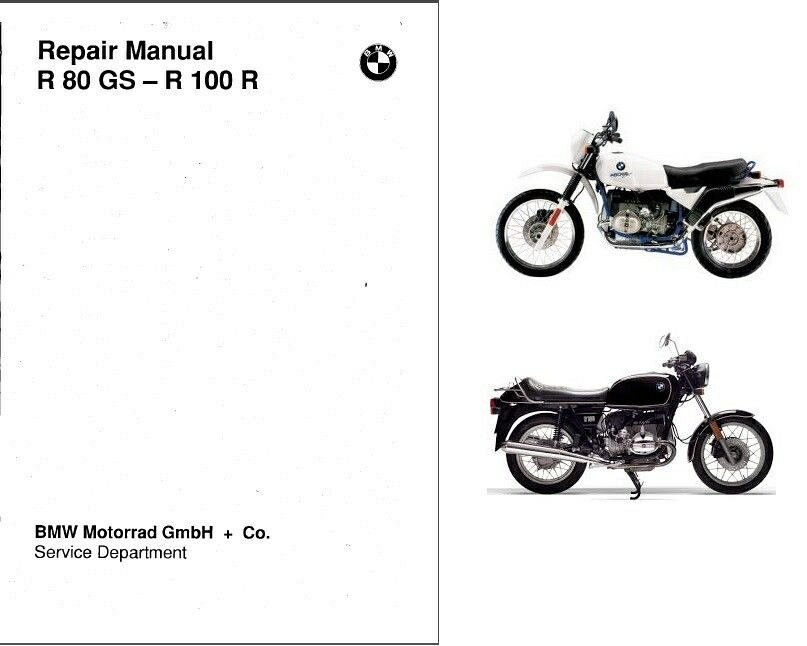 1980-1996 BMW R 80 GS / R 100 R Service Manual on a CD For