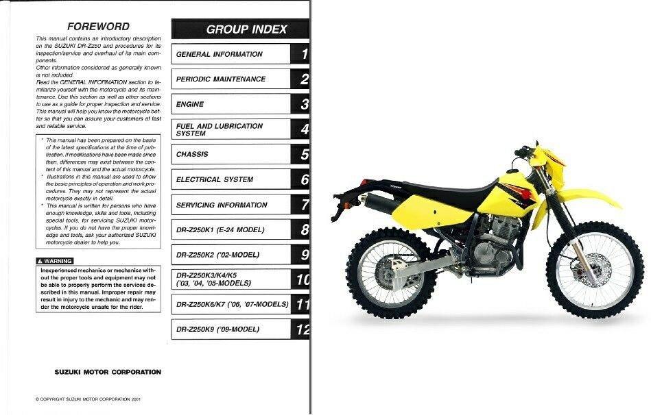 Suzuki ts 250 service manual