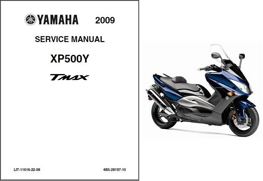 2009-2011 Yamaha TMAX 500 ( XP500 ) Scooter Service Manual