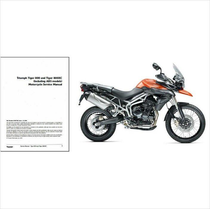2010 2011 2012 2013 Triumph Tiger 800 / 800XC Service
