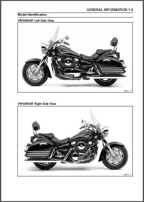 2005-2006 Kawasaki Vulcan 1600 Nomad / VN1600 Classic