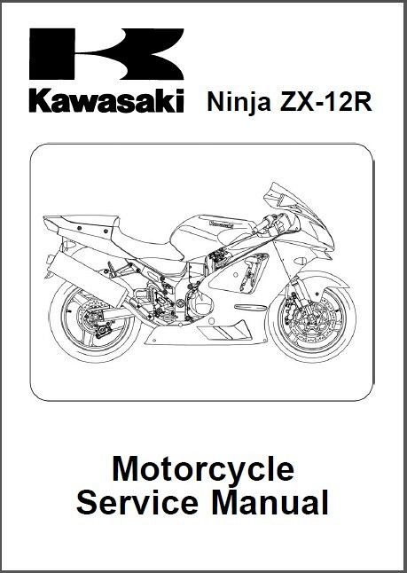 02-06 Kawasaki Ninja ZX-12R Service Repair Manual CD