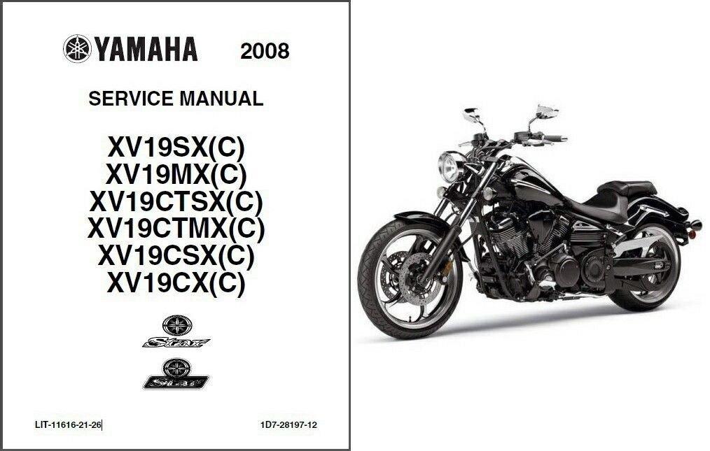 Yamaha Raider Manual Pdf : Yam Raider 700 760 1100 Service