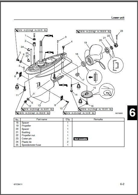 Yamaha F30 / F40 4-Stroke Outboards Service Repair Manual