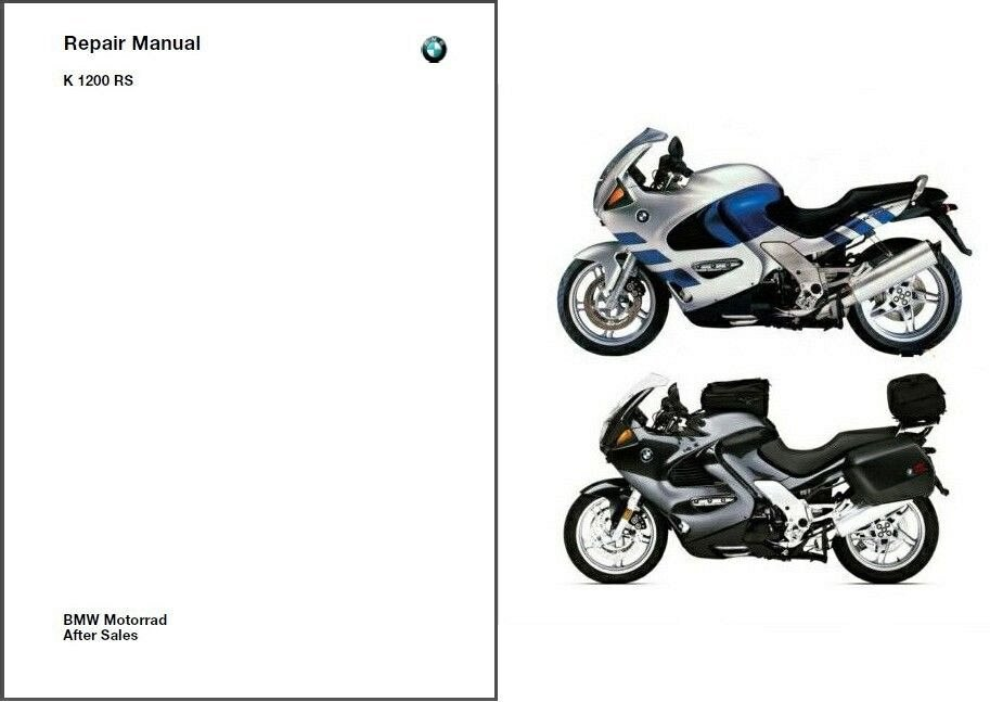 96-06 BMW K1200RS Service Repair Shop Manual CD