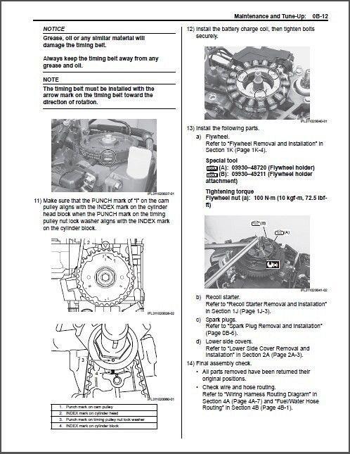 2014-2015-2016 Suzuki DF25A DF30A EFI Outboard Motors