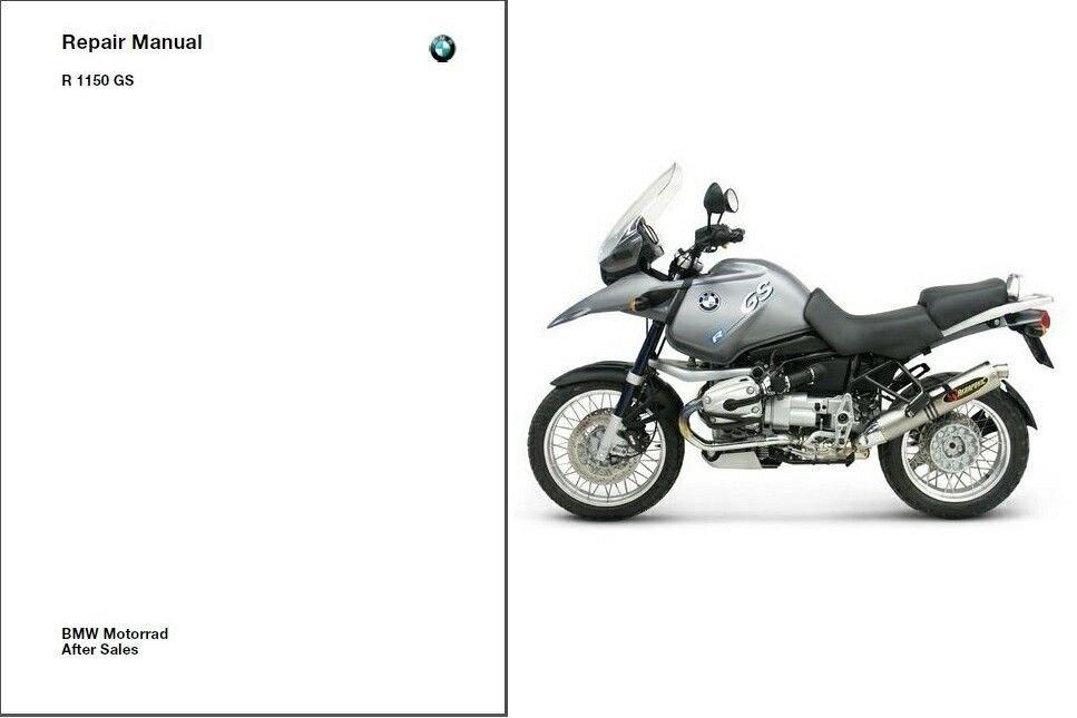 1998-2004 BMW R1150GS Service Repair Workshop Manual CD