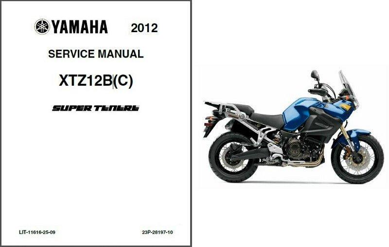 2012-2013 Yamaha Super Tenere 1200 ( XT1200Z ) Service