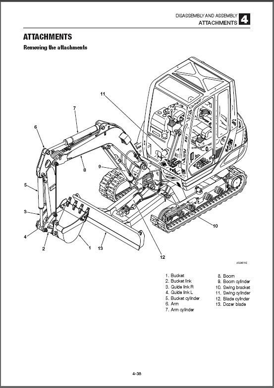 Takeuchi TB228 Compact Excavator Service Workshop Manual