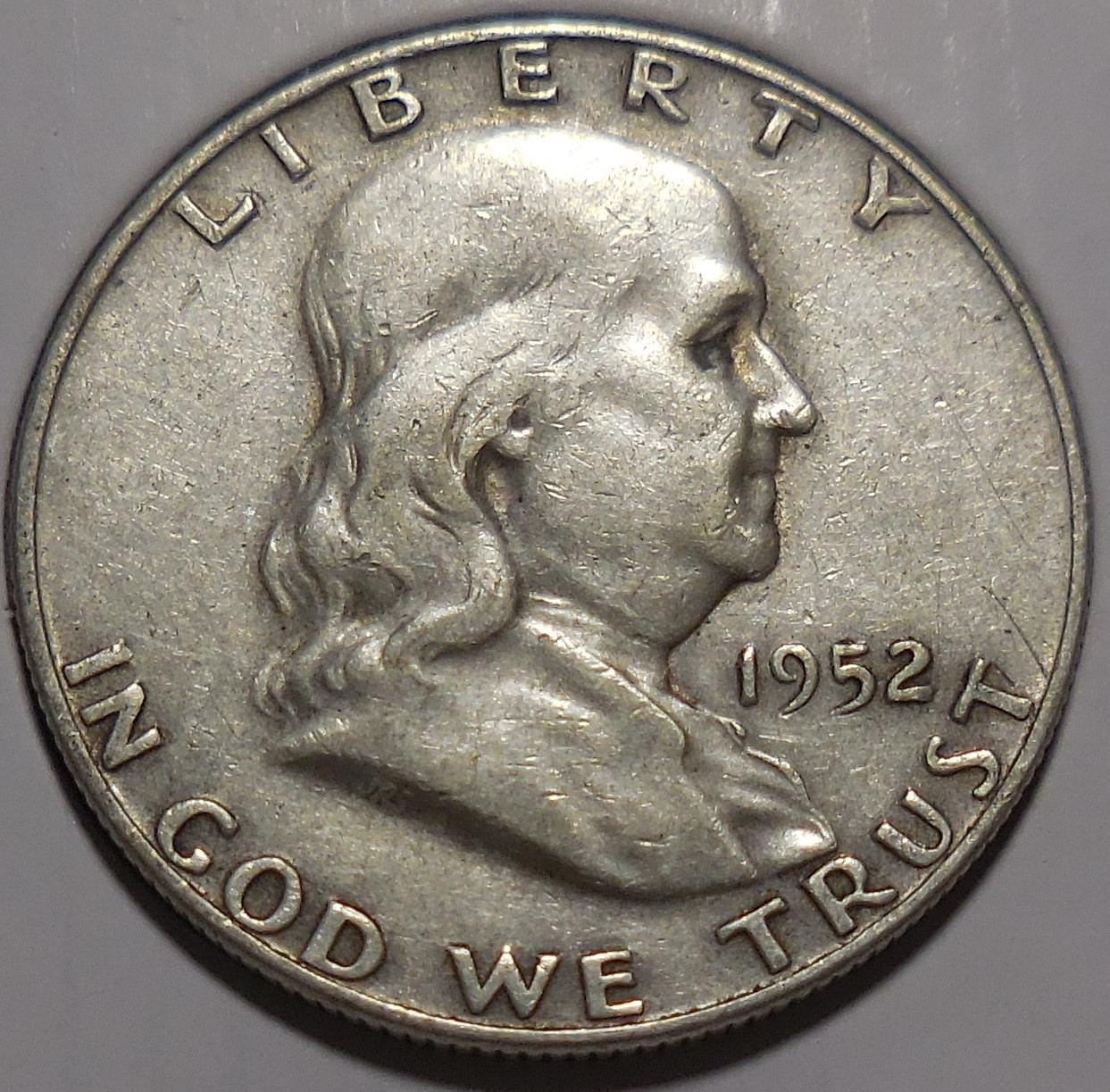 Franklin Half Dollar D