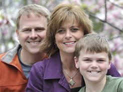 """Phenomenon"": Colton Burpo, with parents Sonja and Todd, ""died"" in the operating room when he was 4 and says he went to heaven. He came back with amazing stories, which are recounted in Heaven Is for Real."