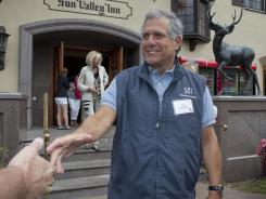CBS CEO Les Moonves at the 2011 media-oriented Sun Valley Conference in Sun Valley, Idaho.