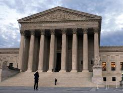 The Supreme Court in Washington, where challenges to the health care law are being considered.