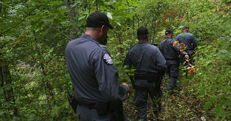 "Kentucky state police, National Guard members, Drug Enforcement Administration agents, U.S. Forest Service spotters and others are part of a strike force based in London, Ky., that works dawn to dark to eradicate marijuana harvests. The remote and rugged terrain, including the 700,000 acres of the Daniel Boone National Forest, is a pot-grower's paradise whose perfect soil and climate give it a key place in America's ""Marijuana Belt."""