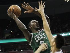 Forward Jeff Green averaged 9.8 points and 3.3 rebounds last season after joining the Celtics in a midseason trade.