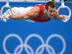 Bulgaria's Jordan Jovtchev won a silver in the still rings at the 2004 Olympics in Athens. He won bronze in the same event in the 2000 Sydney Olympics.