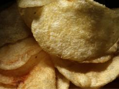 The potato chip is the biggest demon behind that pound-a-year weight creep that plagues many of us, a major diet study found.