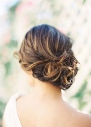 strikingly gorgeous side updo