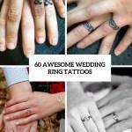 60 Awesome Wedding Ring Tattoos Weddingomania