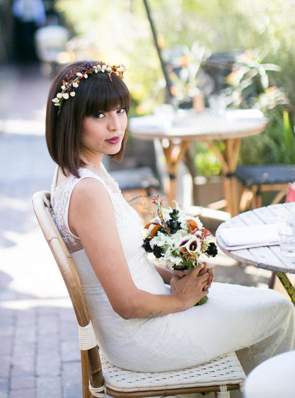 52 Chic And Pretty Wedding Hairstyles With Bangs , crazyforus