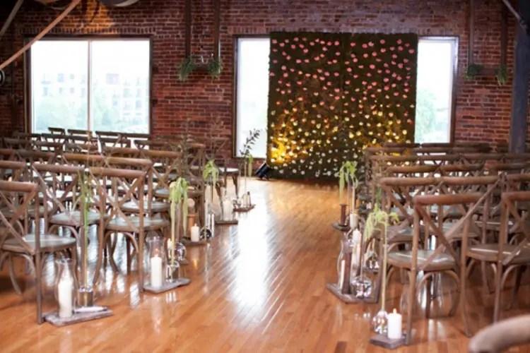 23 Industrial Wedding Ceremony Decor Ideas Weddingomania