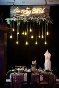 21 Beautiful Edison Bulbs Wedding Lightning Ideas ...