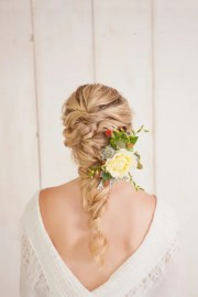 charming bride's wedding hairstyles