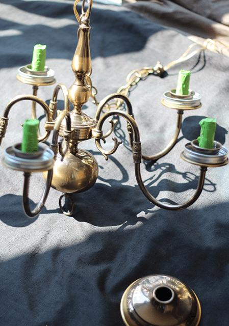 Chandelier Jar Mason Unusual