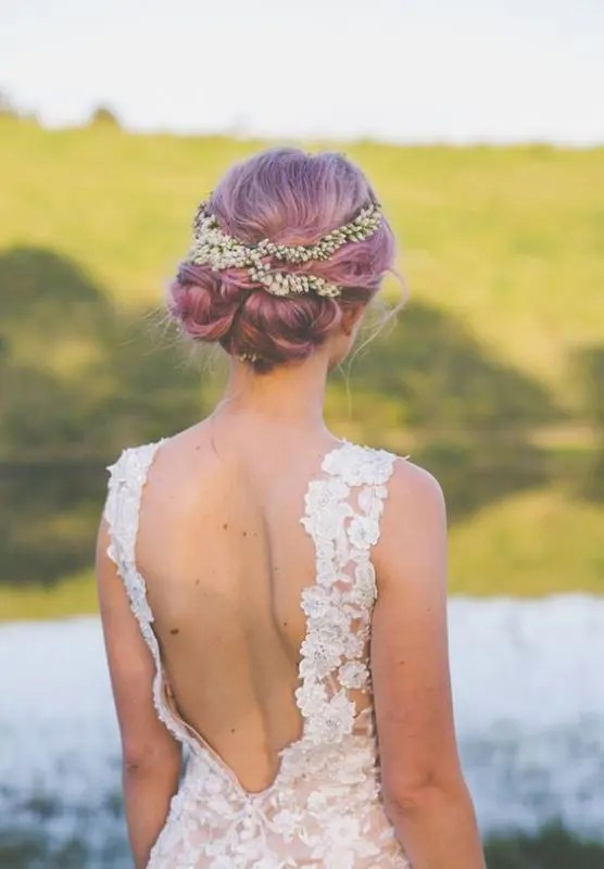 15 Unique Pastel Wedding Hair Ideas For Daring Brides